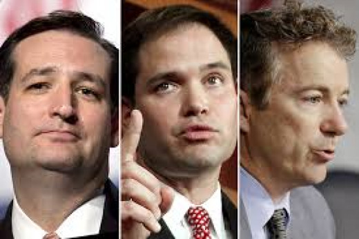 Cruz, Rubio and Paul (alias:Theodore, Marco, and Randall)