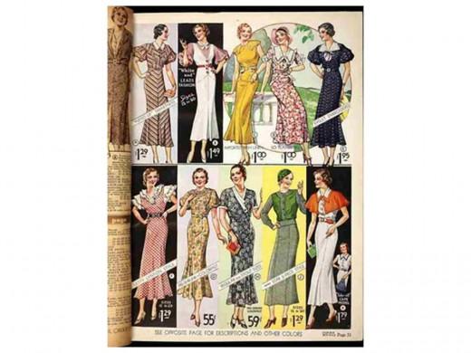 Dresses of 1933