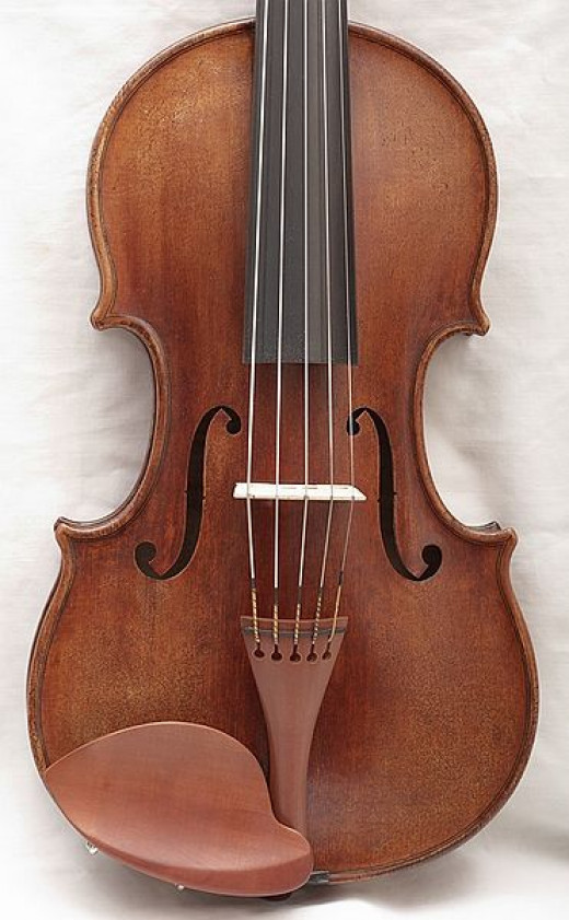 This is a violin. Or viola. Or something like that.