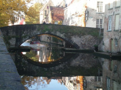 The canals of Bruges © A Harrison