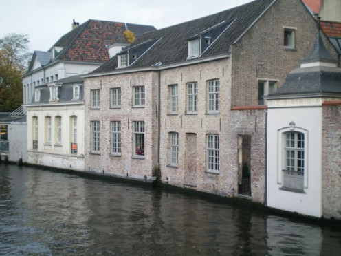 Bruges - often called Venice of the North © A Harrison