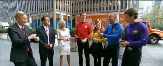 Fox & Friends with the Wiggles.