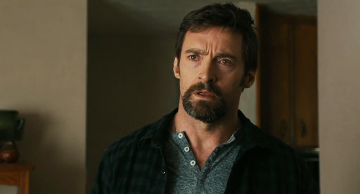 Hugh Jackman stars as a father trying to find his missing daughter and her friend in the thriller Prisoners