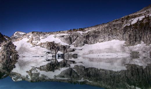 Inspiration lake.