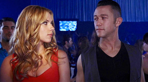 Scarlett Johansson and Joseph Gordon-Levitt star in Don Jon, a romantic comedy with a different twist.  Gordon-Levitt also directs and wrote the screenplay.