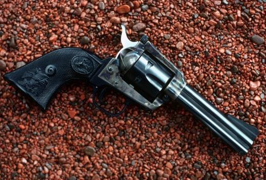 Colt New Frontier .22RF Revolver.