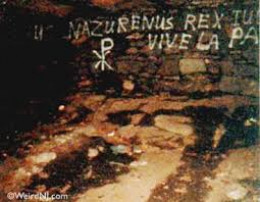 Some of the Graffiti found