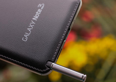 leather feeling of the handset