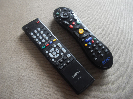 When you live alone, you have sole control of the remote