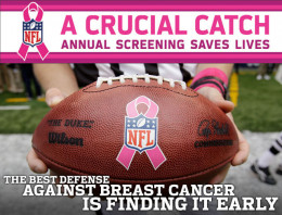 "The best defense against Breast Cancer is finding it early. The American Cancer Society said the ""Crucial Catch"" screenings made available through the grant program reached 62,000 women during its first five months."