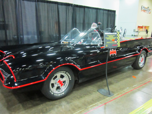 The original Batmobile!