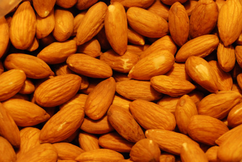 Almonds are an easy snack on the go.
