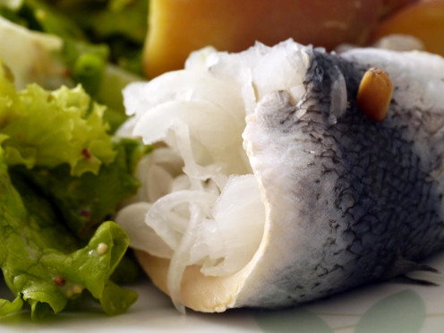 Fresh is best - ask for herring at your local sushi bar.