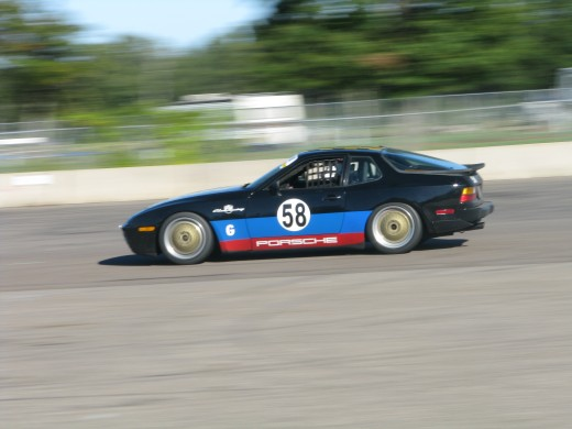 Porsche 944 at Brainerd International Raceway.