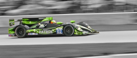 HPD LMP race car (selective desaturation in PSE)