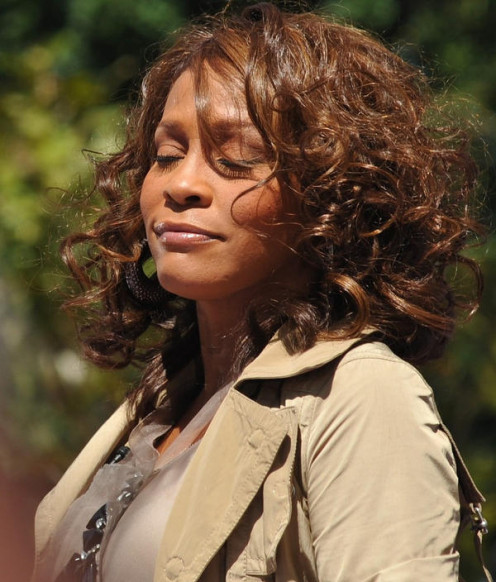 Whitney Houston in Central Park 2009