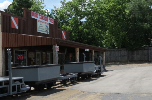 Bonne Terre Mine General Store, get your tour tickets here.