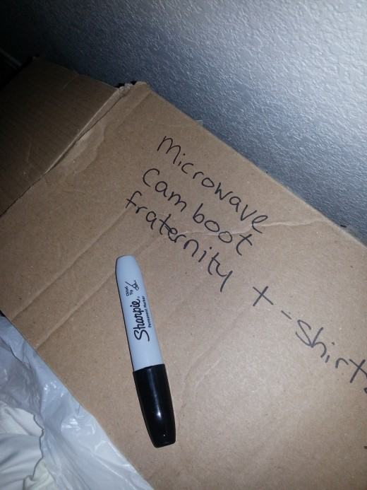 I have some boxes that have been in storage for six years. The Sharpie on the outside hasn't faded away!
