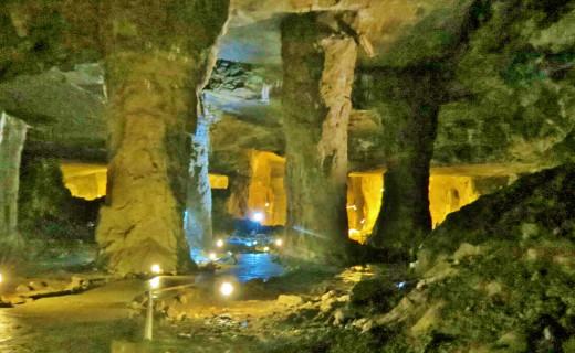 Inside Bonne Terre Mine