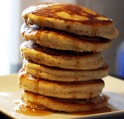 Try pumpkin spice pancakes for chilly fall mornings.