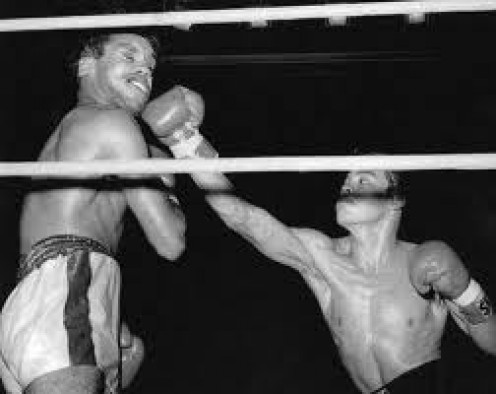 Rock- A- Bye Ruben Oilvares had a deadly right hand that could end a boxing match at any moment.