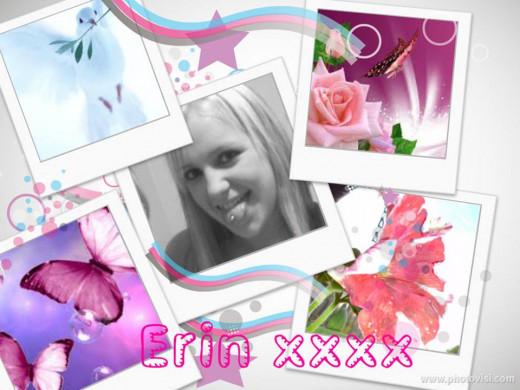 My beautiful baby Erin.