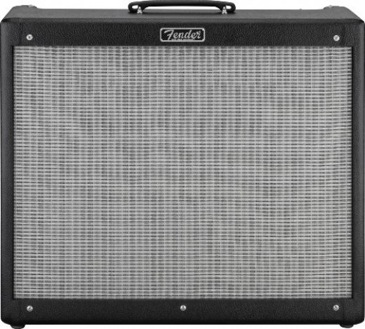 "Some amps, like the Fender Hot Rod DeVille 212, can pack a whallop even though they're smaller ""combo"" amps"