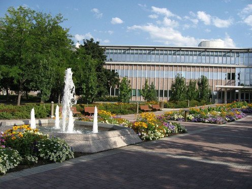 Brigham Young University in Provo Utah
