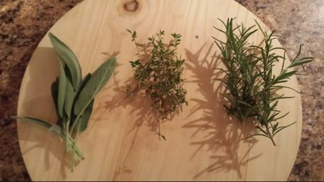 Sage, Thyme, Rosemary