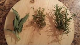 Sage, Thyme, Rosemary