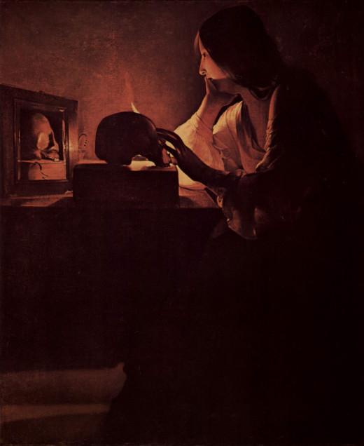 17th century painting by Georges de La Tour