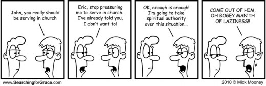 Spiritual manipulation.