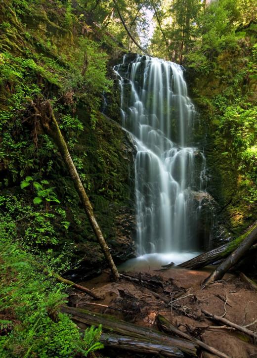 Berry Creek Falls at Big Basin