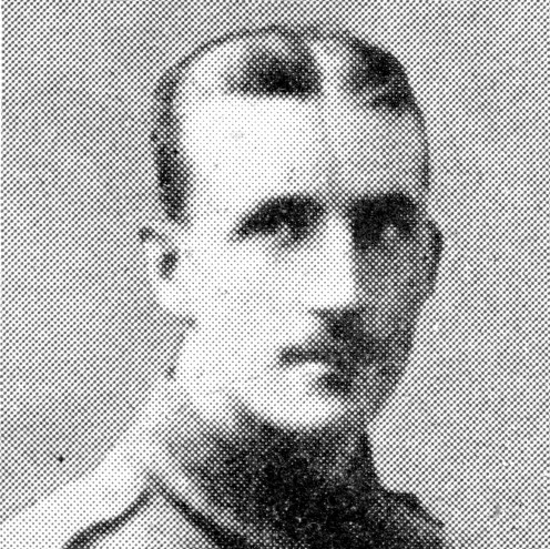 Company Sergeant-Major Frederick Barter, 1st Royal Welsh Fusiliers, awarded the Victoria Cross for conspicuous bravery at Festubert.