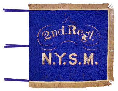 Standard of the 2nd Regiment, New York Militia