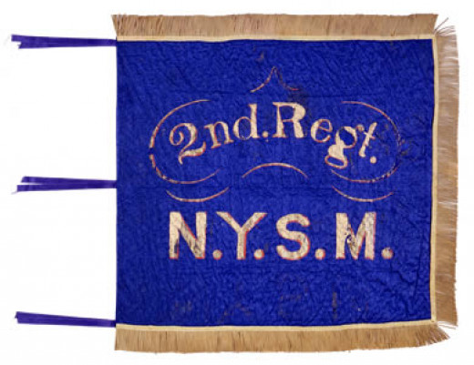 Standard of the 2nd Regiment, New York Militia