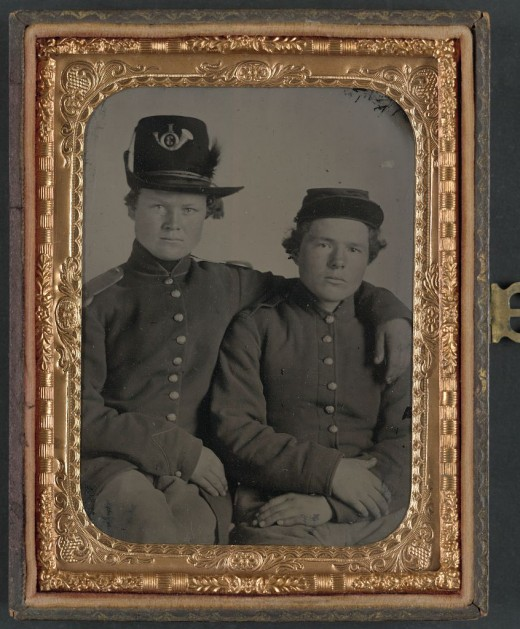 The Gripman Brothers, Hiram and William, Union Volunteers