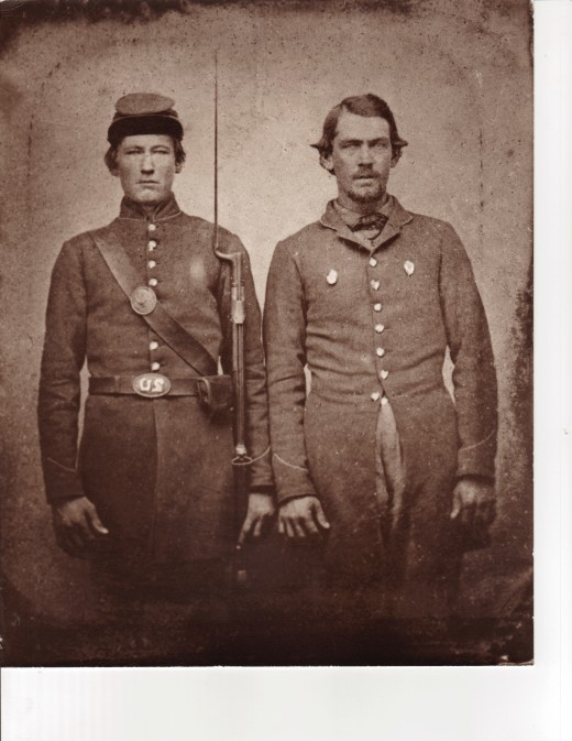 The Halford Brothers, Union Volunteers