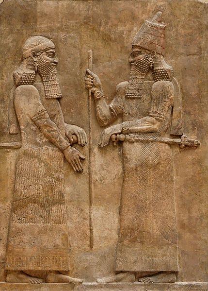 429px-Sargon_II_and_dignitary.jpg