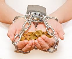 Money is the modern version of slave chains