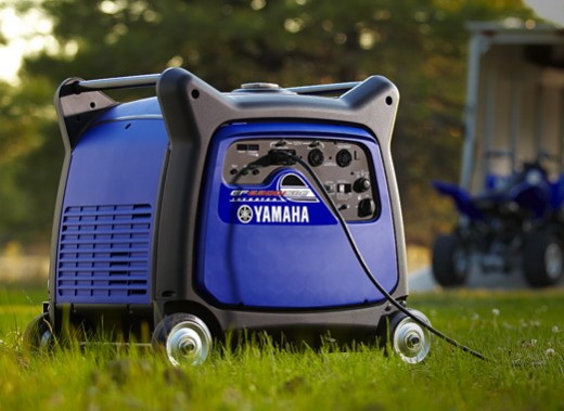 The Yamaha EF6300ISDE is perfect for those looking for a high capacity inverter generator.