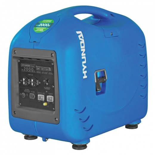 The Hyundai HY2000si 2200-Watt Portable Inverter Generator is surprisingly good for around $500.