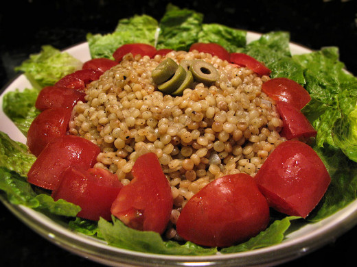 Israeli Couscous is nutritious as long it is the variety made with whole grains