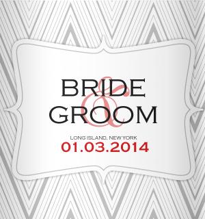 A design idea created to match this gorgeous wedding color scheme.