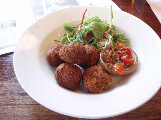 Nice for lunch or a snack, arancini balls are tasty and easy to make.