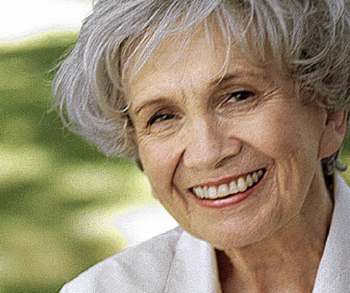 Alice Munro, 2013 Nobel Prize in Literature winner.