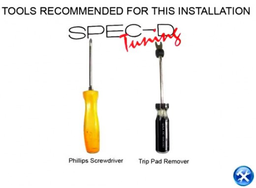 1. Recommended Installation Tools