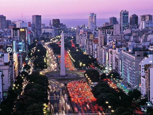 The capital of Argentina is a bustling city.