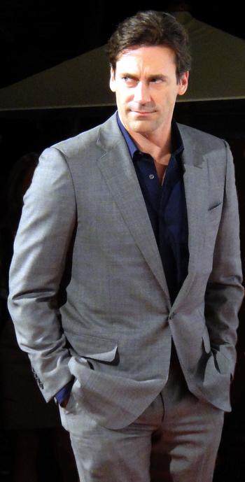 Jon Hamm, who plays Don Draper on Mad Men