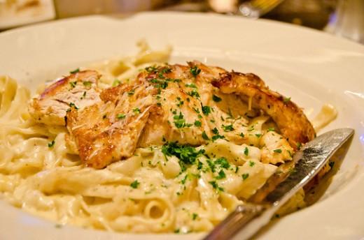 The Best Ever Chicken Fettuccine Alfredo